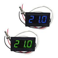2x DC 12V Digital LED Temperature Controller Thermostat Control Switch Probe