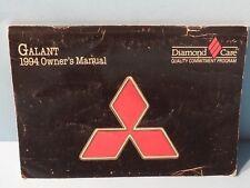 94 1994 Mitsubishi Galant owners manual