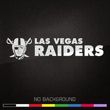 Las Vegas RAIDERS NFL Football Vinyl Decal Sticker | Choose Color