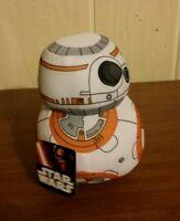 "Star Wars The Force Awakens BB 8   6"" Mini Plush NWT Disney"