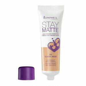 Rimmel Stay Matte Liquid Mousse Foundation Classic Beige 201