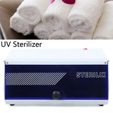 2 in 1 Hot UV Sterilizer Towel Warmer Cabinet Spa Beauty Salon Equipment 6.5L US