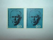1960 WEST GERMANY GENERAL GEORGE MARSHALL x 2 MNH (sg1258) CV £8