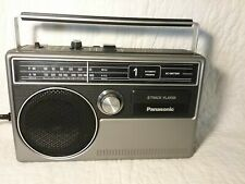 New Listing Vintage Panasonic Rq-831A Portable 8 Track Player Am/Fm Japan, Tested, Works