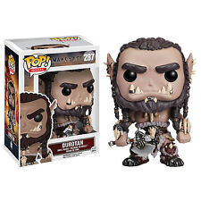 Funko World Of Warcraft POP Durotan Vinyl Figure NEW Toys Collectibles WOW