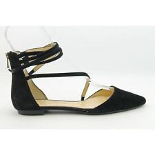 Zapatos planos de mujer Jessica color principal negro de ante