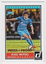 AXEL WITSEL 2015 Donruss Soccer Bronze Press Proof /299 #82 Zenit St. Petersburg