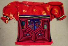 Kuna Tribe Cherry & Dragon Mola Blouse Panama San Blas-17100505L