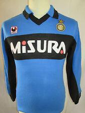 Inter Milan 1988-1990 Training Football Shirt long sleeve Size Small