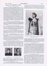 1901 Strange Story Lewis Waller Miss Kate Rorke