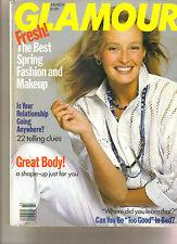 Glamour Magazine - Mar 1989-Estelle Lefebure