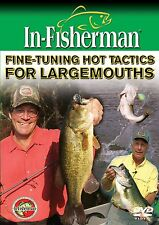 In-Fisherman Fine-Tuning Hot Tactics for Largemouth Bass Fishing DVD Video
