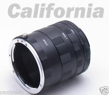 Macro Extension Tube Ring For Canon XS XSi T1i T2i T3i T4i T5i T3 T5 XT 650D 700