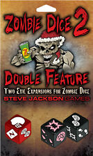 Zombie Dice 2 Double Feature Game - Steve Jackson Games - Eat Brains SJG 131324