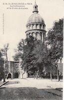 BOULOGNE sur MER - La cathédrale et la Porte de Calais   (D3209)