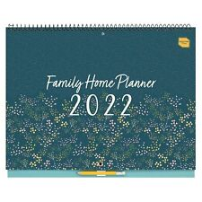 More details for 2021-2022 boxclever press family home planner calendar. spacious. month-to-view