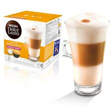 Nescafé Dolce Gusto Flaco Latte Machiato, paquete de 3 total 48 cápsulas, 24 porción