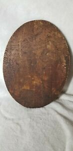 Antique Hansel and Gretal Wooden Etching