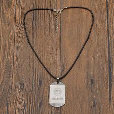 Kpop BTS Necklace Unisex Bangtan Boys Jewelry Pendant Adjustable Rope Gift