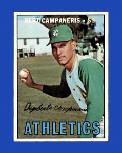 1967 Topps Set Break #515 Bert Campaneris NM-MT OR BETTER *GMCARDS*