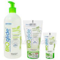Joy Division BIOglide Neutral lubricant Water based lube * 100% Natural gel *