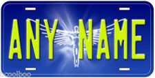 Angel Aluminum Any Name Personalized Novelty Car License Plate A02