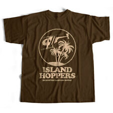 Inspired by Magnum PI T shirt - Island Hoppers An Old Skool Hooligans Retro TV