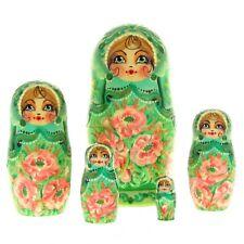 Poupées russes H17cm peint main signé Matriochka Gigognes Nested Doll Matrioshka