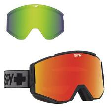 Spy Ace Goggles Matte Black Happy Red Spectra + Happy Lucid Green