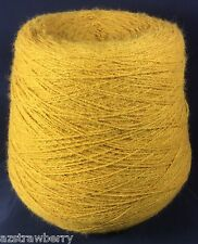 Machine Knitting Cone Spool Yarn Weaving Loom Thread supergold 2/14 1lb 5 oz