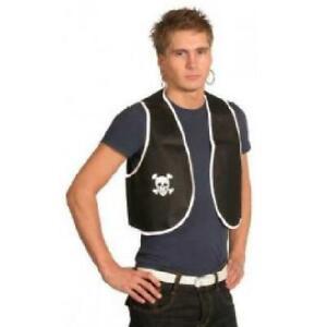 Adult Pirate Waistcoat Costume Accessory Fancy Dress