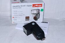 METZ Mecablitz 50 AF-1 digital: Blitzgerät für Pentax, P-TTL. HSS, P-TTL remote