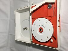 Vintage General Electric GE Portable Record Player