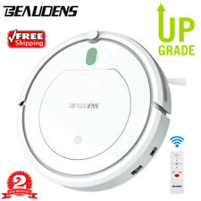 Beaudens Cordless Smart Robotic Vacuum Cleaner Automatic Cleaning Sweeping 3Mode