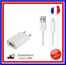 CÂBLE MICRO USB CHARGEUR SECTEUR 3En1 POUR SAMSUNG GALAXY S5 S6 S7 Edge