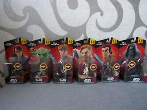 Disney Infinity 3.0 Star Wars - 6 Light FX Spielfiguren (Yoda, Anakin,...) - Neu