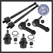 Front Steering Kit Tie Rod Ends Ball Joints Set For 2004-2006 4WD Ford F-150