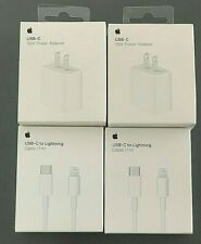 For Apple iPhone OEM USB-C Fast charger 18W PA 1M/3FT Lightning to USB-C Cable