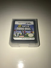New Super Mario Bros Video Game W/ Case for Nintendo DS Lite TESTED