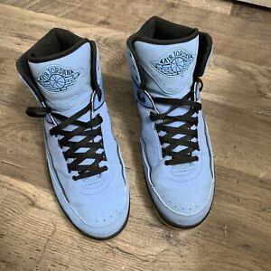 Nike Air Jordan 2 University Blue Size 12.5 UNC QF