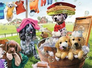 Laundry Day, 300 piece puzzle by Ravensburger