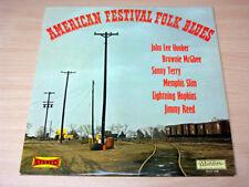 EX-/EX- !! American Festival Folk Blues/1973 Musidisc LP/Brownie McGhee