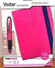 "Vivitar Portfolio Case with Pen/Stylus Fits Any 10"" Tablet"