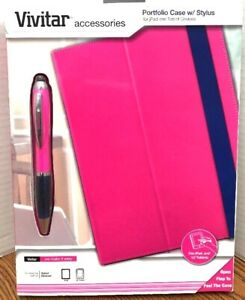 "Vivitar Portfolio Case with Pen/Stylus Fits Any 10"" Tablet"