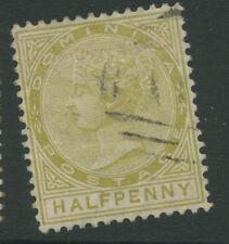 Dominica SG4 1879 1/2d P13