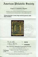 Finland 1866/74 Sc 8 Used with APS Certificate CV $400. f3032
