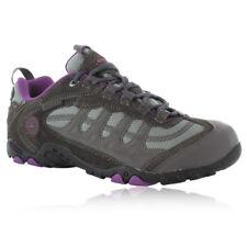Hi-tec Penrith Low Waterproof Womens Shoe Charcoal/purple Size 5 O002869-054