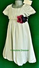 Satin Summer Short Sleeve Dresses (2-16 Years) for Girls