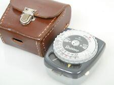 GOSSEN Sixtino Belichtunsmesser Light meter funktionsfähig functional + Ledert.