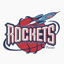 Houston Rockets Primary Logo NBA DieCut Vinyl Decal Sticker Buy 1 Get 2 FREE